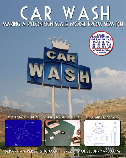 car-wash-neon-sign-scale-model-blueprints-book