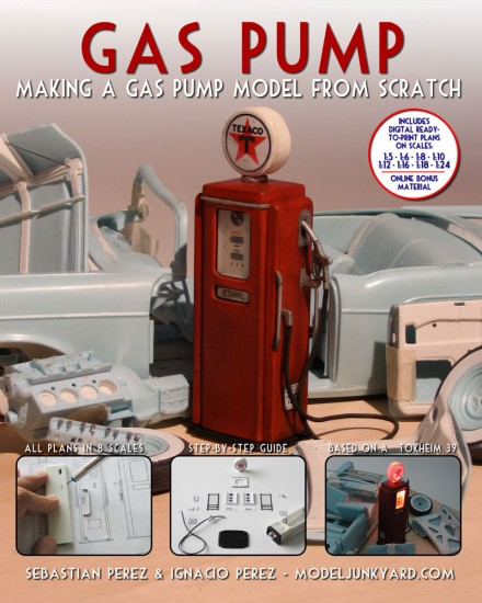 Gas Pump - Making a gas pump scale model from [book]