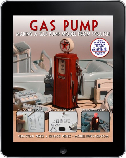 Gas Pump – Making a gas pump scale model from [ebook]