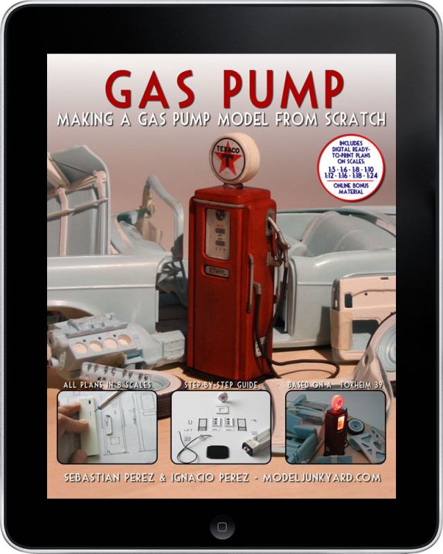 Gas Pump - Making a gas pump scale model from [ebook]