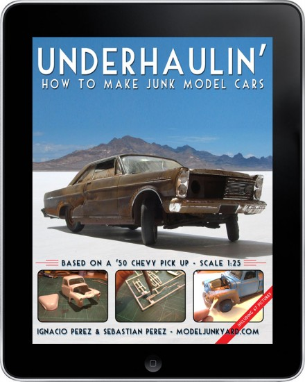 Underhaulin' - How to make junk model cars [ebook]