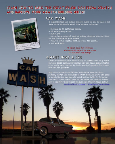 Car Wash – Preview – Back cover