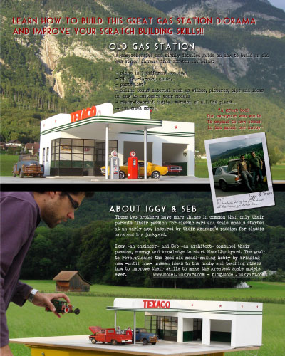 Gas Station – Preview – Back cover