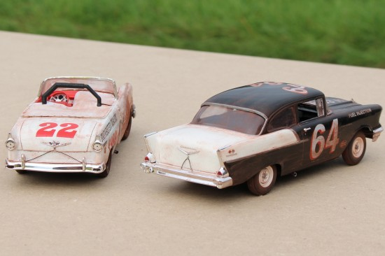 56 Sunliner and 57 Black Widow