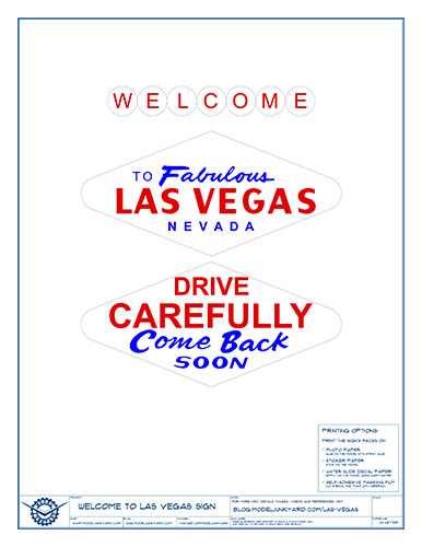 Welcome to Las Vegas sign – Graphics