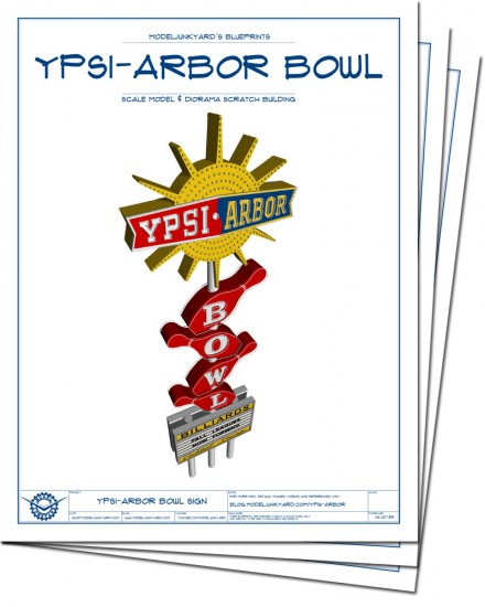 YPSI-ARBOR Bowl sign - Cover