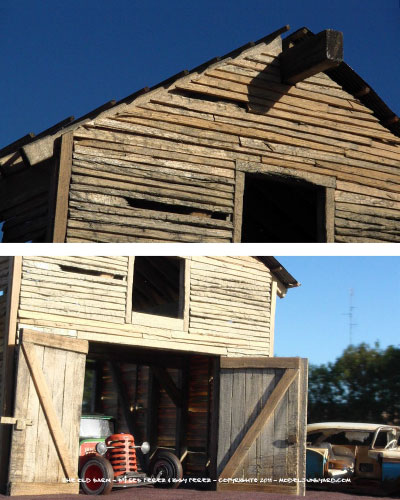 Old Barn Making A Barn Scale Model From Scratch